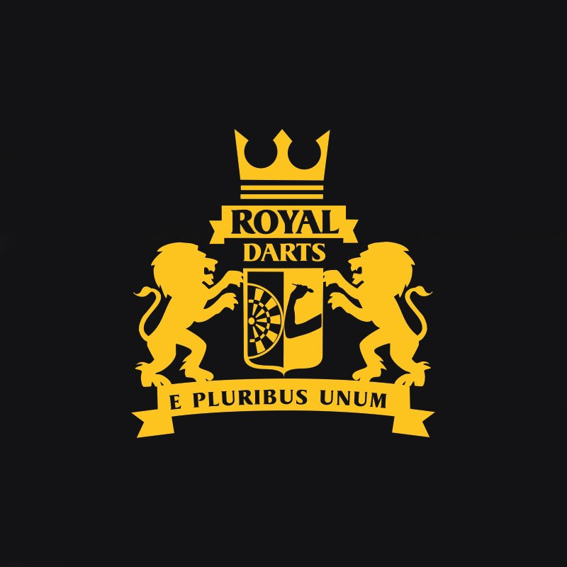 Royal Darts Logo Gold