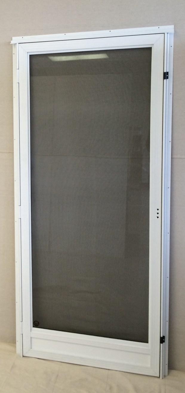 White Storm Door Home Design Ideas
