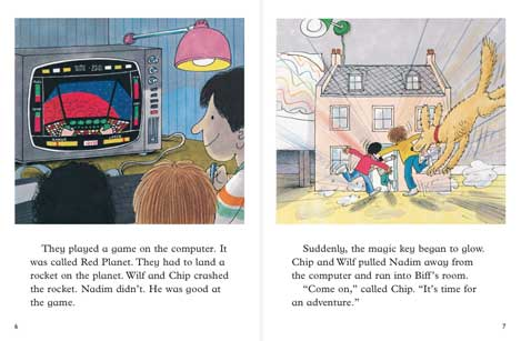ORT, Oxford Reading Tree, Kipper,  Red Planet