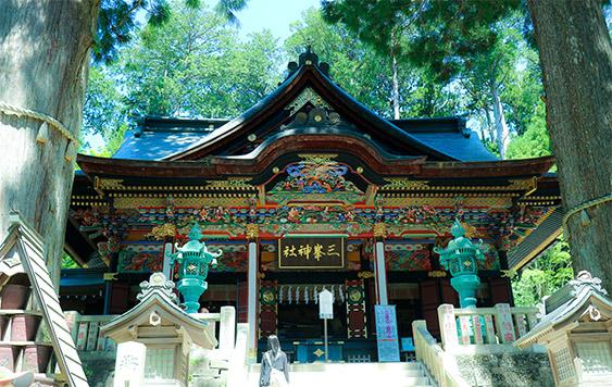 三峯神社, 埼玉県, 秩父, 拝殿