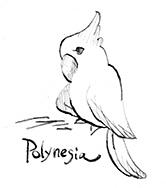 ドリトル先生, アフリカゆき, Doctor Dolittle, Polynesia, オウム, parrot, 動物, animals, ポリネシア