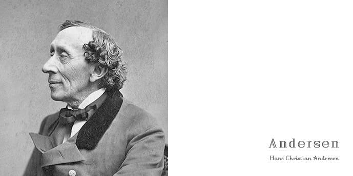 ハンス・クリスチャン・アンデルセン, Hans Christian Andersen, Always Right, The Little Mermaid, Thumbelina, The Emperor's New Clothes, 親指姫, 人魚姫, 裸の王様, 父さんのすることはいつもよし, 写真, 童話, 英語多読