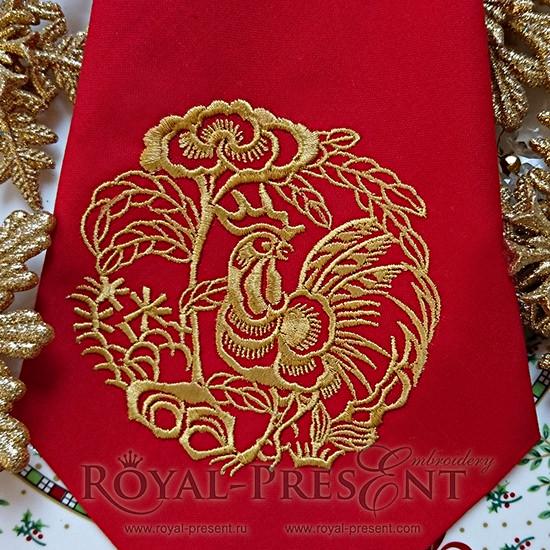 Дизайн вышивка royal