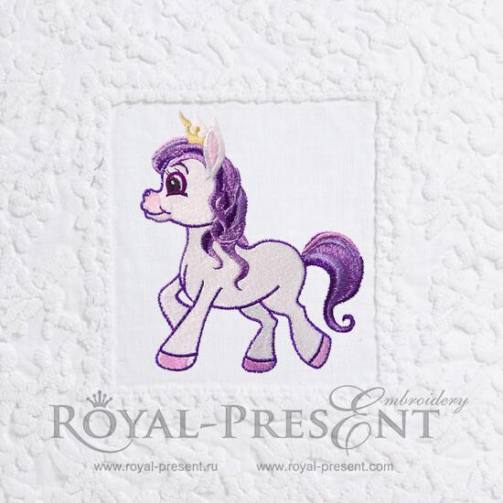 Дизайн машинной вышивки Мой Маленький Пони