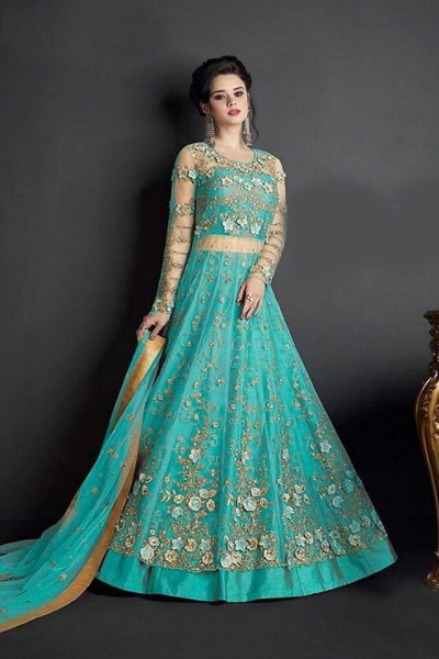stunning-skyblue-embroidered-and-stone-work-heavy-net-anarkali-suit