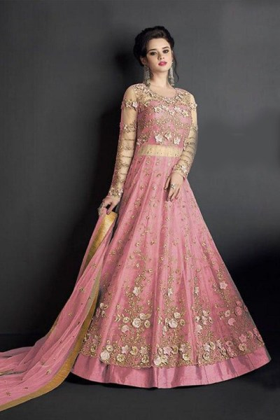 stunning-pink-embroidered-and-stone-work-heavy-net-anarkali-suit