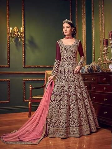comfortable-maroon-color-heavy-tapeta-silk-embroidered-wedding-suit