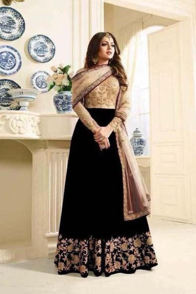 stunning-look-with-black-georgette-with-embroidery-stone-work-suit
