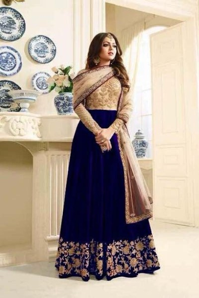 stunning-look-with-blue-georgette-with-embroidery-stone-work-suit