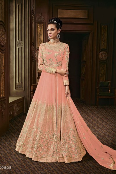 harmonious-orange-color-heavy-georgette-with-stone-work-anarkali-suit