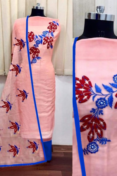 peach-color-heavy-modals-silk-festival-wear-dress-material