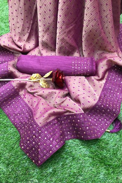 alluring-purple-pure-shahi-chiffon-butti-with-diamond-work-saree