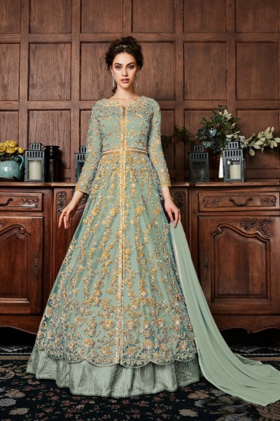 energetic-grey-color-vaishnavi-net-with-coding-embroidery-work-anarkali-suit