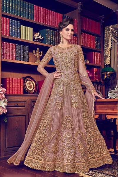 peach-color-heavy-net-embroiderycordingstone-work-anarkali-suit