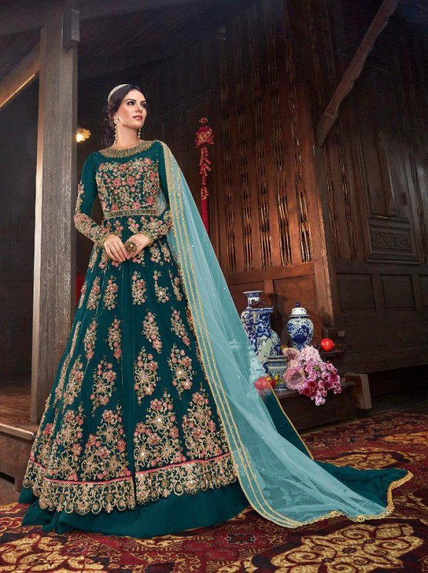 immortal-peacock-blue-color-vaishnavi-net-with-stone-work-sharara-suit