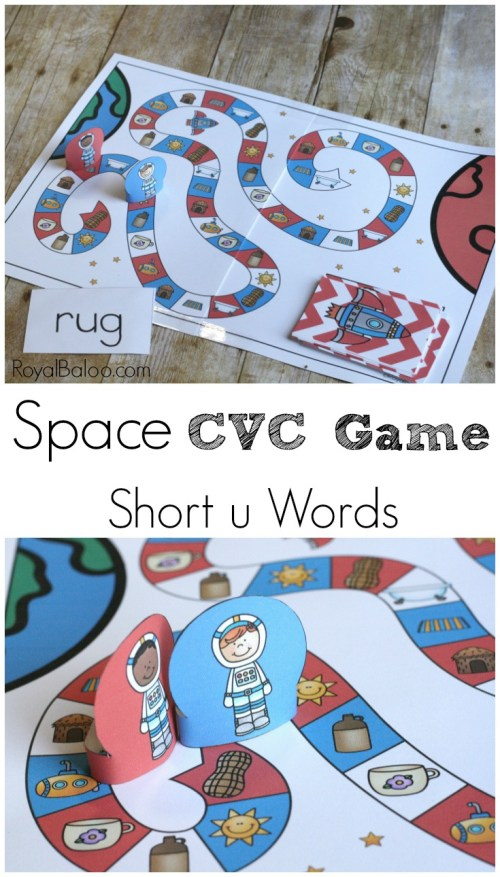 small resolution of Space CVC Game for Out of This World Reading Fun - Royal Baloo