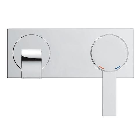 grohe allure two hole wall mount bathroom faucet s size royal bath and kitchen