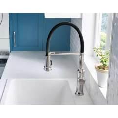 Kitchen Faucet With Handspray Pub Table Blanco Empressa Semi-pro Single Lever High Pressure ...