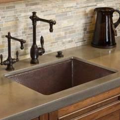 24 Inch Kitchen Sink Bars For Sale Native Trails Cocina Hand Hammered Copper Undermount