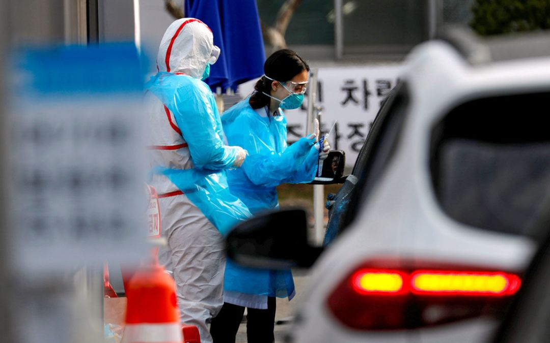 Coronavirus cases have dropped sharply in South Korea. What's the secret to its success?