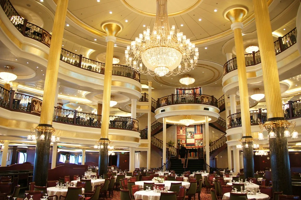 Spotted New Main Dining Room Menu On Royal Caribbean's