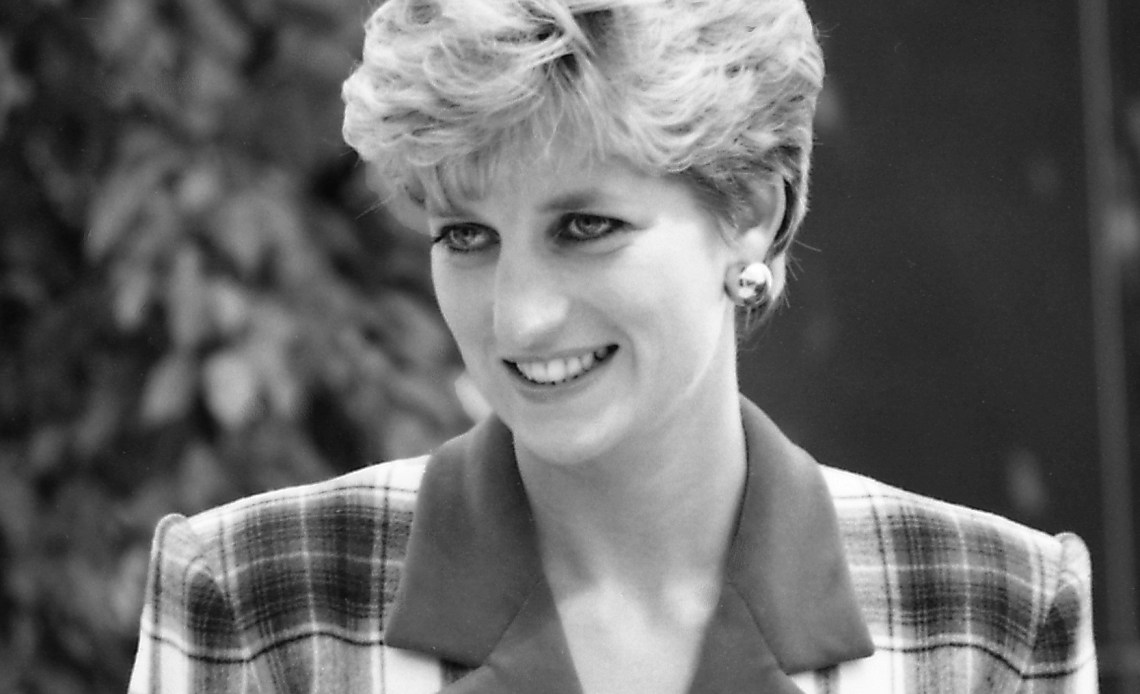 Diana, Princess of Wales in 1992