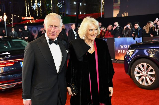 Royal Movie Night: Prince Charles and Camilla attend Royal Film Performance of '1917'
