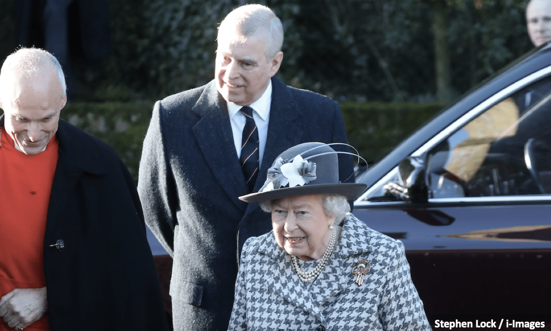 The Queen, the Duke of York