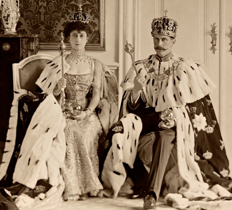 King Haakon VII and Queen Maud of Norway