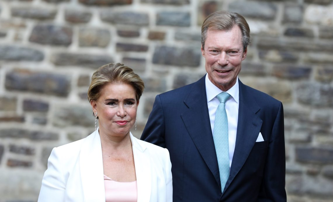 Grand Duke Henri, Grand Duchess Maria Teresa