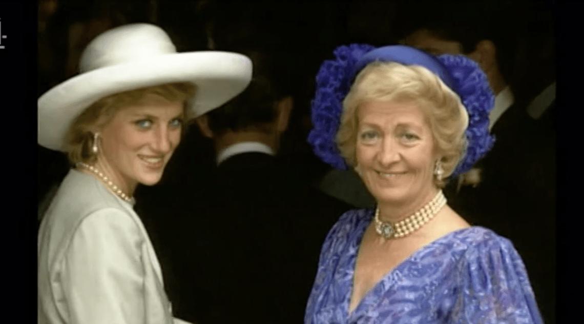 Diana, Princess of Wales and Frances Shand Kydd