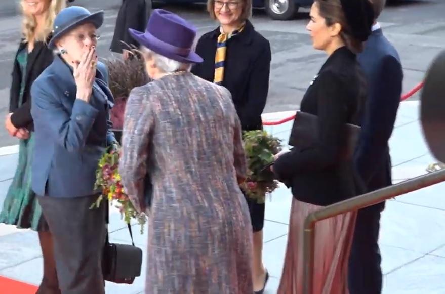 Queen Margrethe, Princess Benedikte