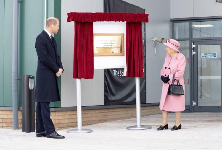 The Queen, The Duke of Cambridge