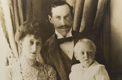 King Haakon, Queen Maud and Prince Olav of Norway
