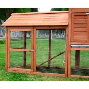 Powhut backyard chicken coop