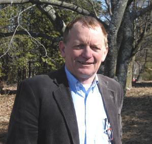 Ric Jordan, Manager of the Arboretum, University of Guelph