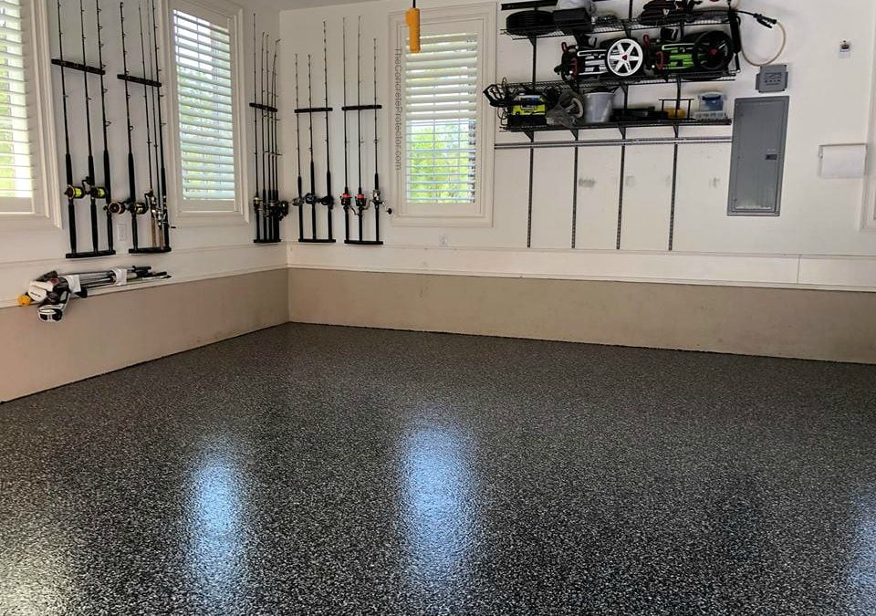 Garage Floor Coating Unicon Concrete Products Edmonton