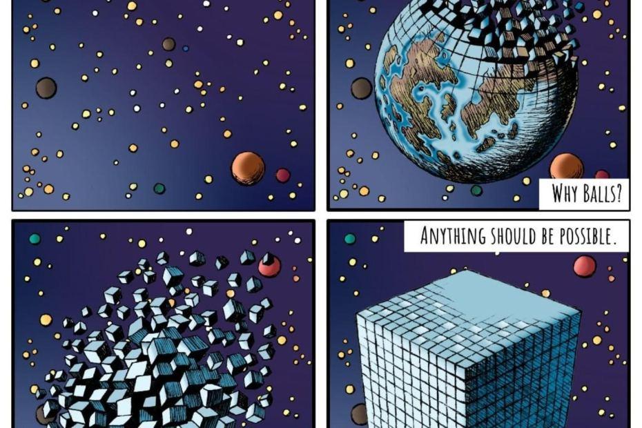 Eidolon strip: Cubic Planets