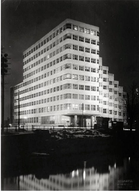 1929 BEWRLIN HQ OF SHELL GERMAN SUBSIDIARY RHENANIA-OSSAG