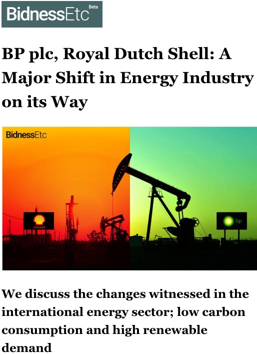 Renewable Energy – Royal Dutch Shell Group  com