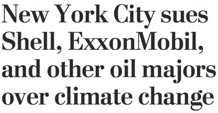 New york city sues shell exxonmobil and other oil majors over new york city sues shell exxonmobil and other oil majors over climate change fandeluxe Choice Image