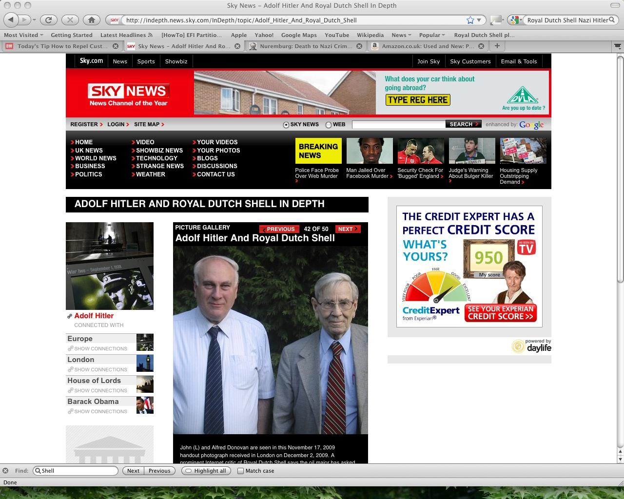 Royal Dutch Shell News