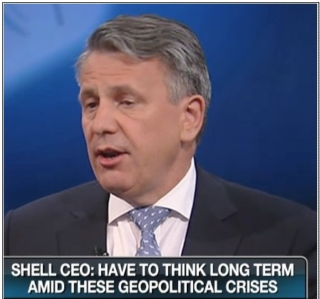 SHELL CEO BEN VAN BEURDEN ON CNBC SEPT 2014