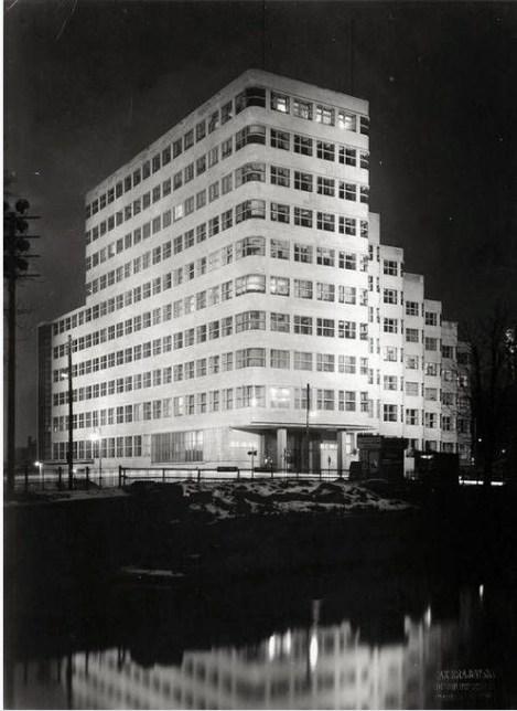 1929 BEWRLIN HQ OF SHELL GERMAN SUBSIDIARY RHENANIA-OSSAG