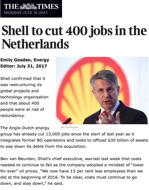 shell to cut 400 jobs in the netherlands royal dutch. Black Bedroom Furniture Sets. Home Design Ideas