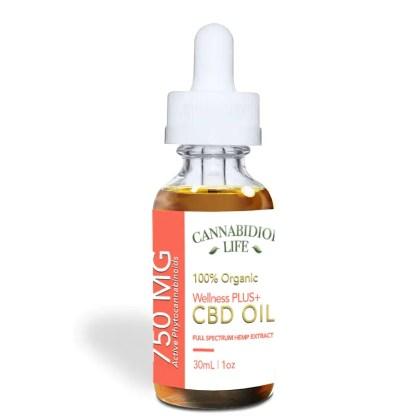 Cannabidiol Life CBD Oil 750 mg