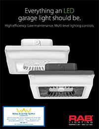 rab lighting led porto garage and ceiling lights royal electric supply company