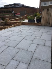 Dark Grey Granite Paving | Mid Grey Granite Paving Slabs