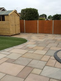 Raj Green Sandstone Paving | Garden Paving Slabs | Patio Slabs