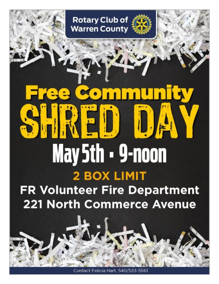 Free Community Shred Day! – Royal Examiner
